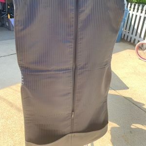 Soft leather travel bag Brookstone